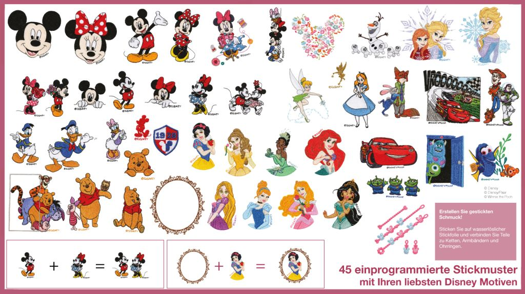 disney pattern sheet